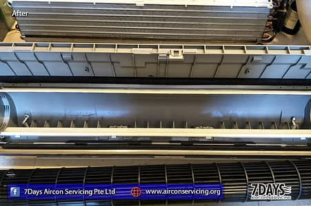 aircon service leaking water