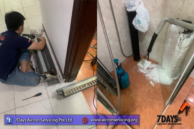 chemical wash for aircon
