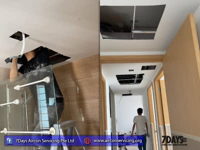 aircon servicing singapore office