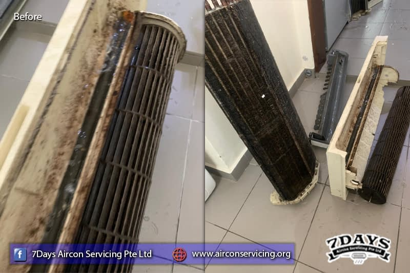 aircon pipe leaking
