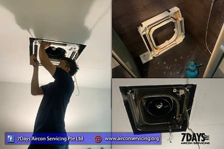 office aircon servicing singapore